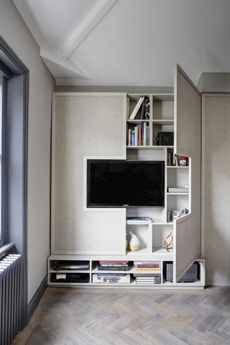 TV Wände Wohnzimmermöbel Einrichtungsideen Beispiele