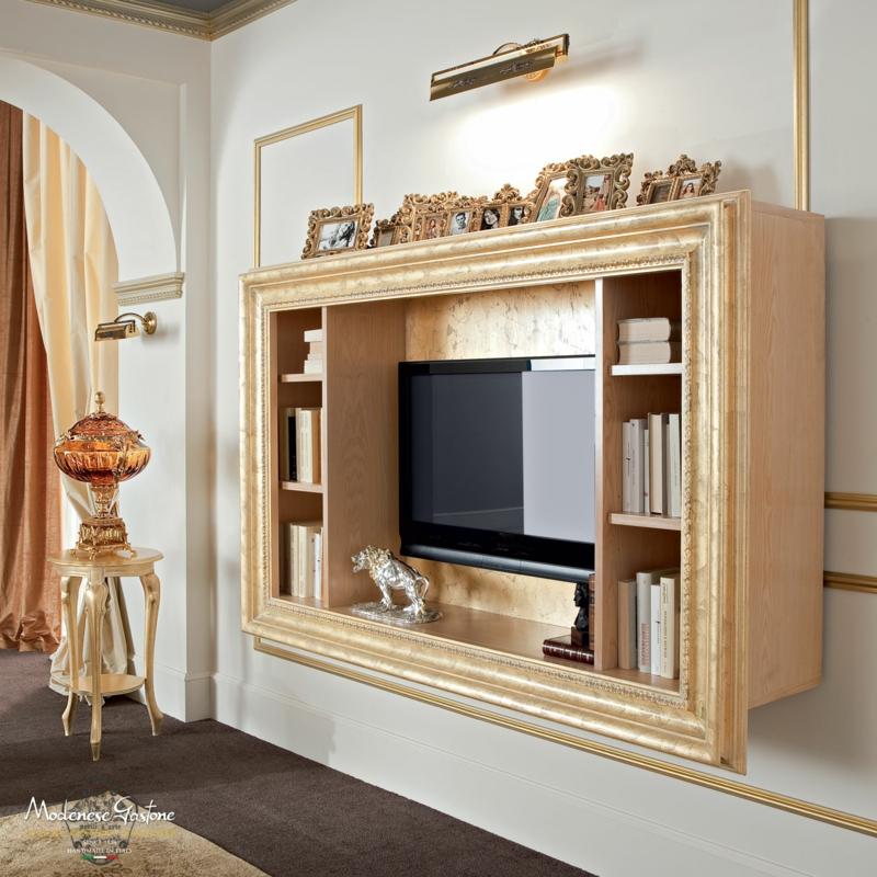 TV Wände Wohnzimmermöbel Holzmöbel antike Möbel TV Wohnwand Wandregal