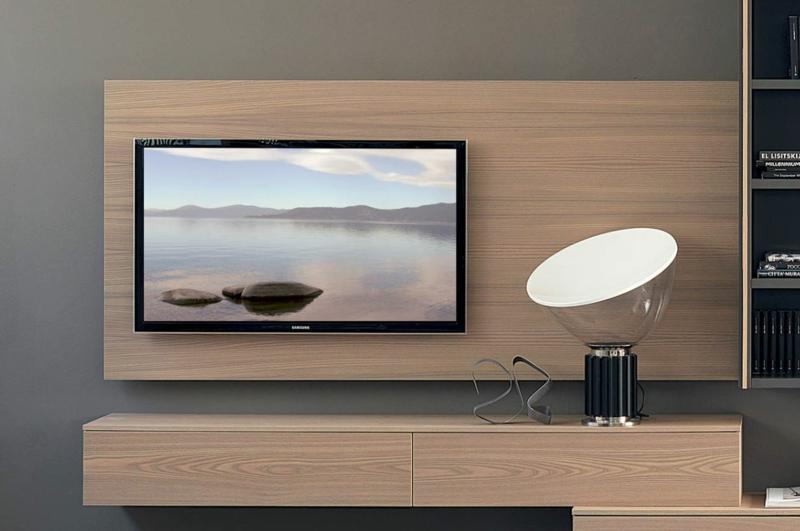 TV Wände Wohnzimmermöbel Holzpaneele Holzmöbel
