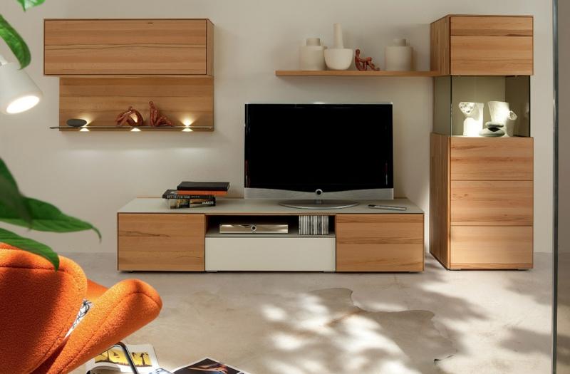 TV Wände Wohnzimmermöbel Regale Holzmöbel TV Wohnwand