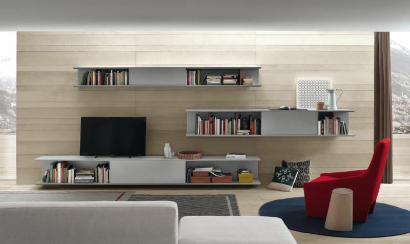 TV Wände Wohnzimmermöbel TV Wohnwand Bücherregale