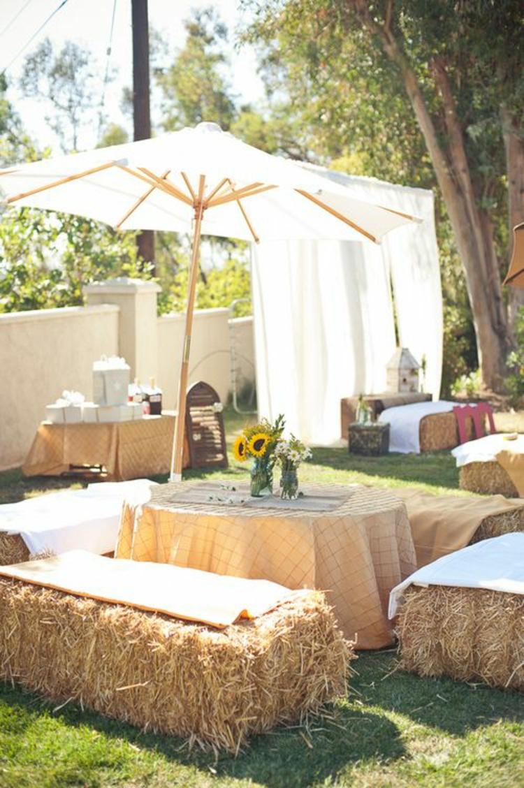 gartenparty perfekt organisieren deko ideen und tipps. Black Bedroom Furniture Sets. Home Design Ideas