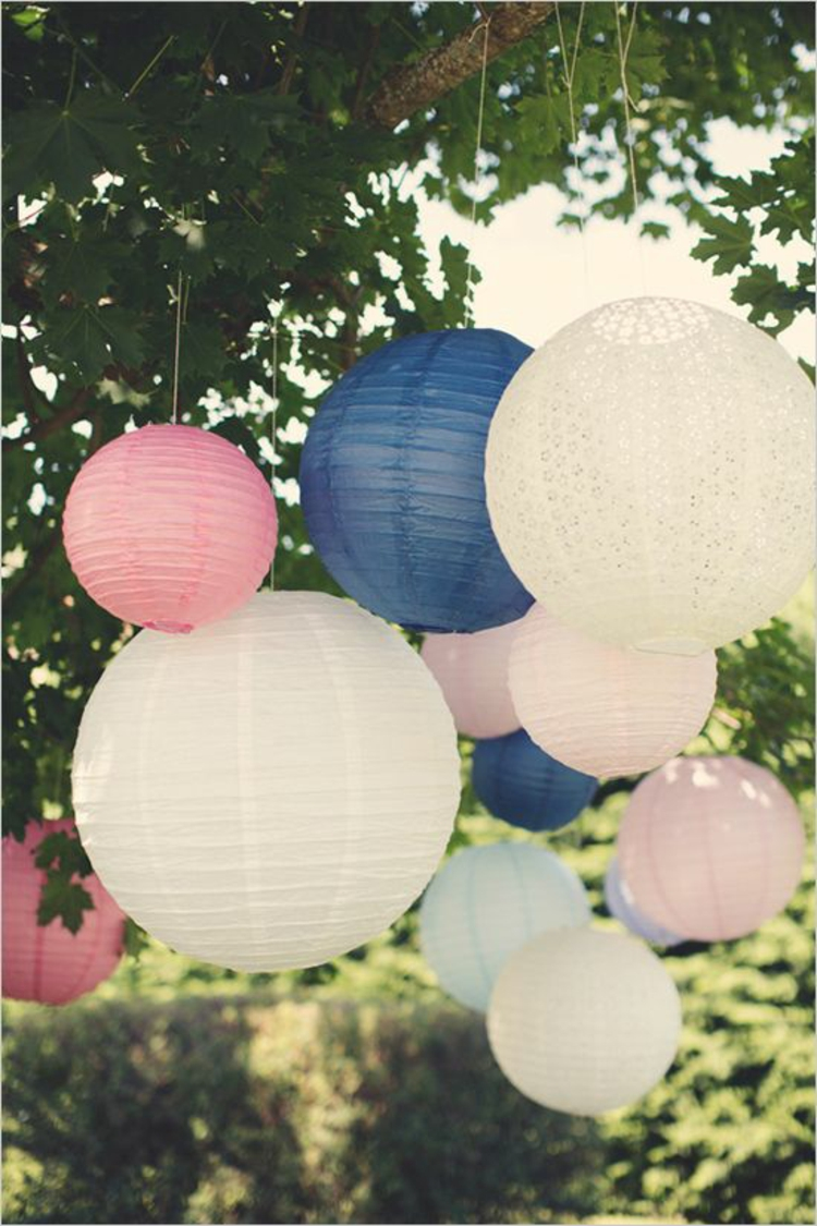 wedding ideas with paper lanterns gartenparty perfekt organisieren deko ideen und tipps 28361