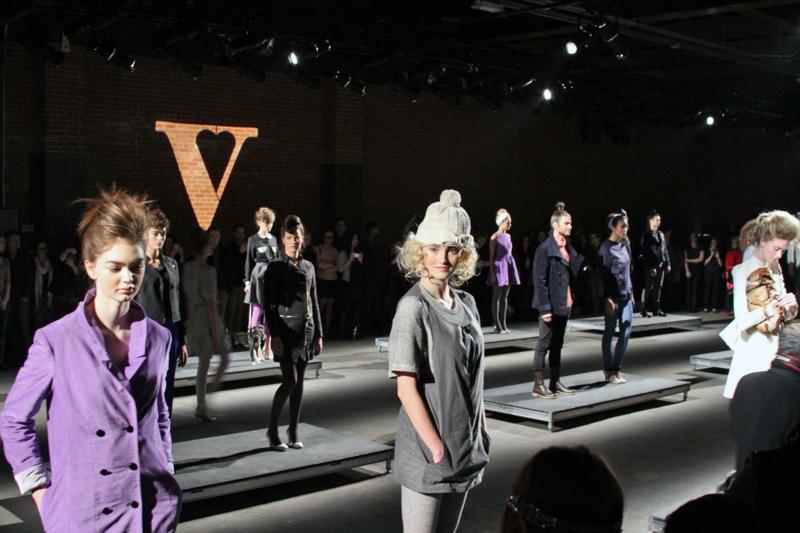 Vaute Couture Modeschau V ist für Vegane Mode