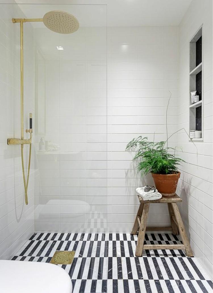 Wohnungseinrichtung Ideen Bad : Badezimmer Ideen Schwarz Weiß  Wohnungseinrichtung Ideen Badezimmer