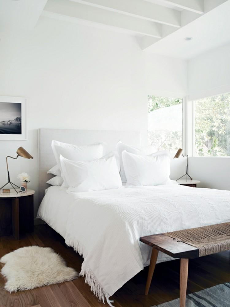 Wohnungseinrichtung Ideen Schlafzimmer minimalistischer Stil