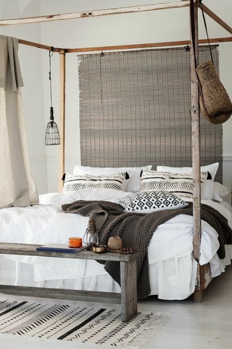 Wohnungseinrichtung Ideen Schlafzimmer rustikal