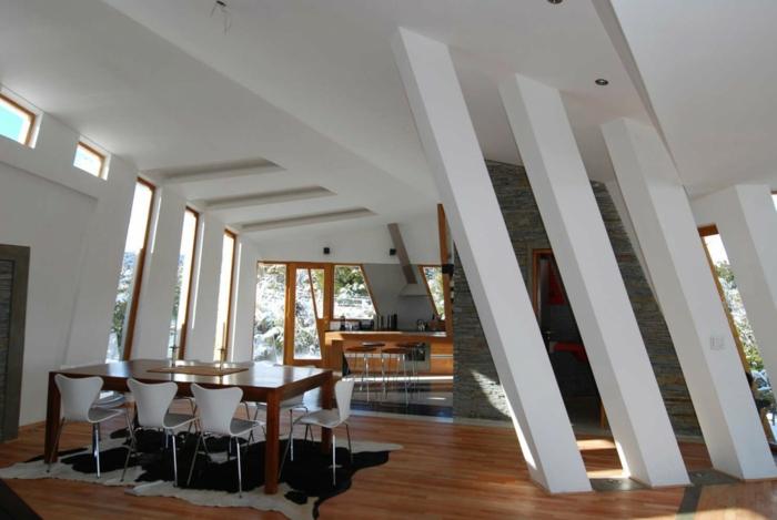 außergewöhnliche ferienhäuser futuristische architektur ribbon house g2 estudio