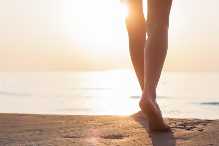 barfuß laufen gesund leben hauptsache gesund lebe gesund fusspflege fußpflege wald