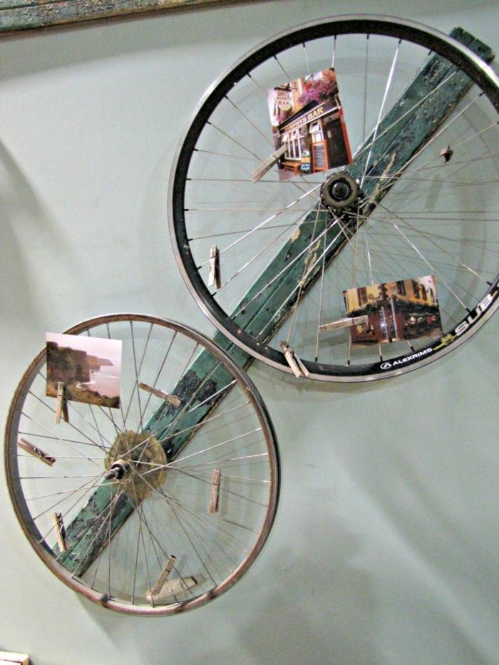 upcycling ideen bastelideen deko ideen diy ideen einrichtungsbeispiele fahrradseiten fotos