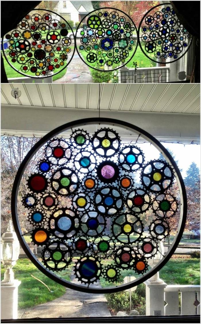 39 upcycling ideen mit alten fahrradreifen. Black Bedroom Furniture Sets. Home Design Ideas