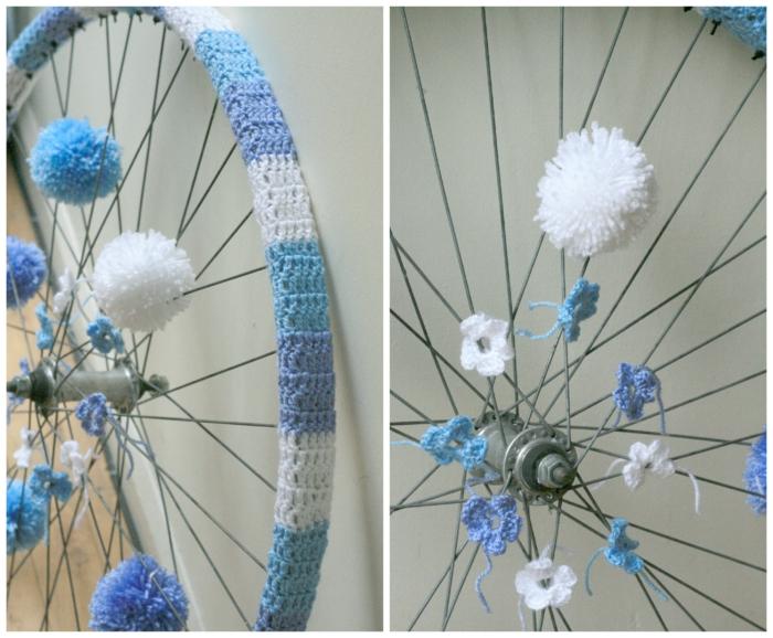 deko ideen diy ideen einrichtungsbeispiele fahrradseiten weihnachtsdeko2 strickgraffity