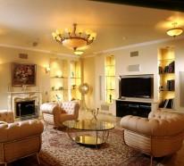 Mit der richtigen Beleuchtung werden simple Räume zu Wohlfühloasen