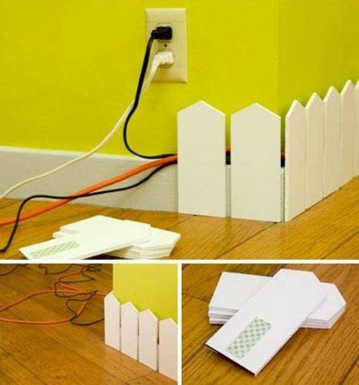 Beste Kreative Möglichkeiten Um Kabel Zu Verstecken Ideen ...
