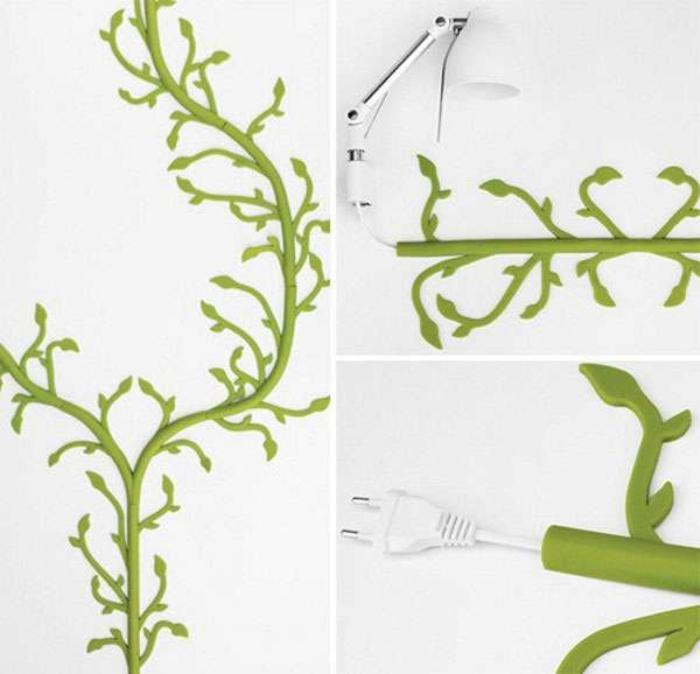 Kreative Deko Ideen, wie Sie lästige Kabel verstecken können