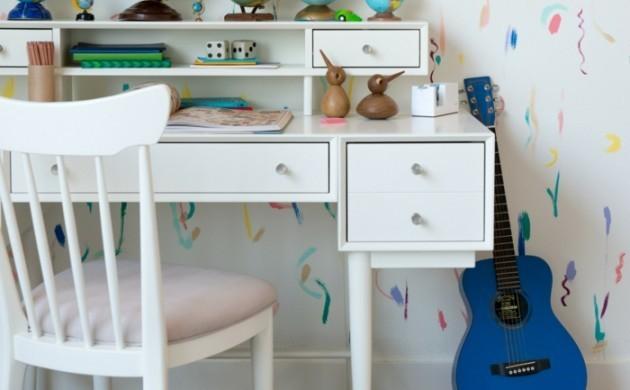 dekoideen-kinderzimmer-globen-wanddeko-schreibtisch