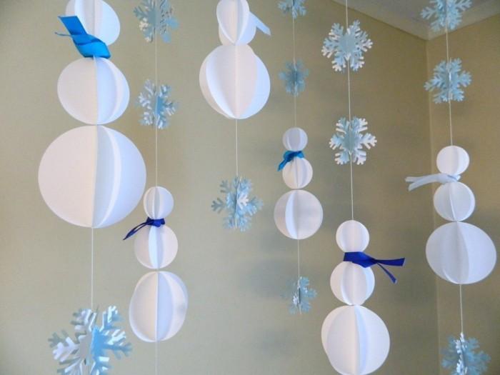 diy deko dekoideen papier hängende deko