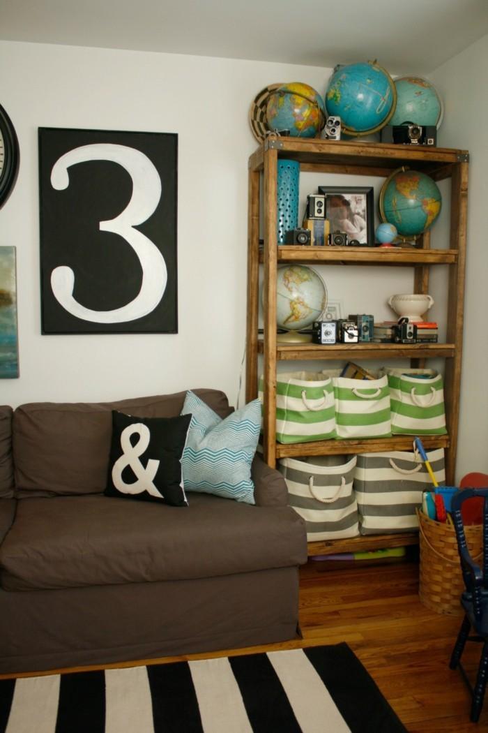 diy deko globen wohnzimmer dekorieren