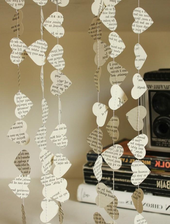 diy deko hängende deko mobile basteln papier