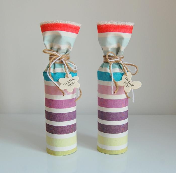 diy ideen dekoideen flaschen geschenkideen