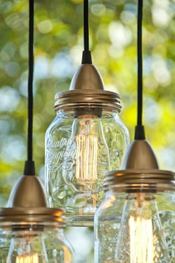 diy ideen einmachgläser leuchten basteln