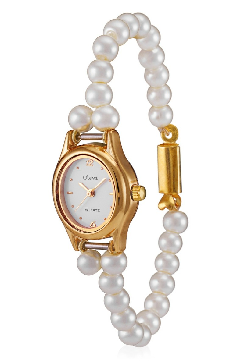 echte Perlen Edelsteine Wirkung Perlen Armbanduhr