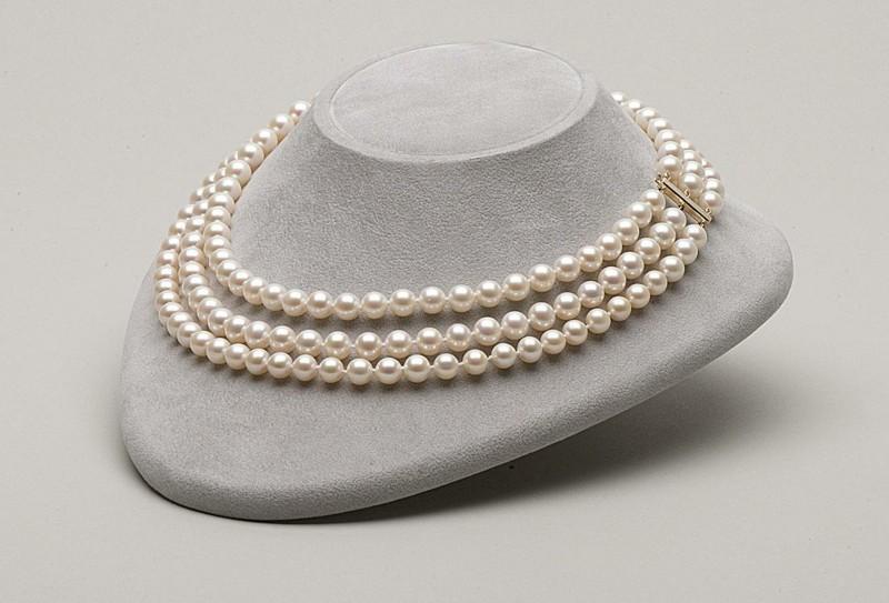 echte Perlen Edelsteine Wirkung Perlen Brautschmuck Halskette
