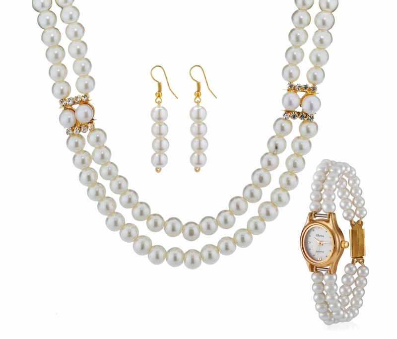 echte Perlen Edelsteine Wirkung Perlen Schmuck Set