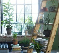 42 Upcycling Ideen mit Holzleiter- die DIY Deko ist ein Hit