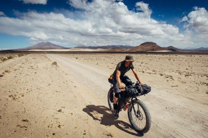 fahrrad weltreise bike fahren wüste südamerika