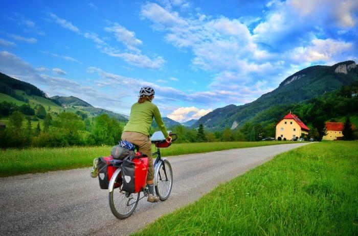Ennsradweg weltreise fahrrad
