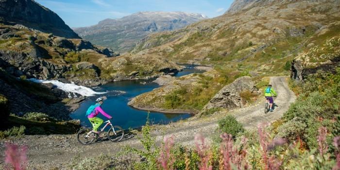 fahrrad weltreise bergen bike gebirge norwegen