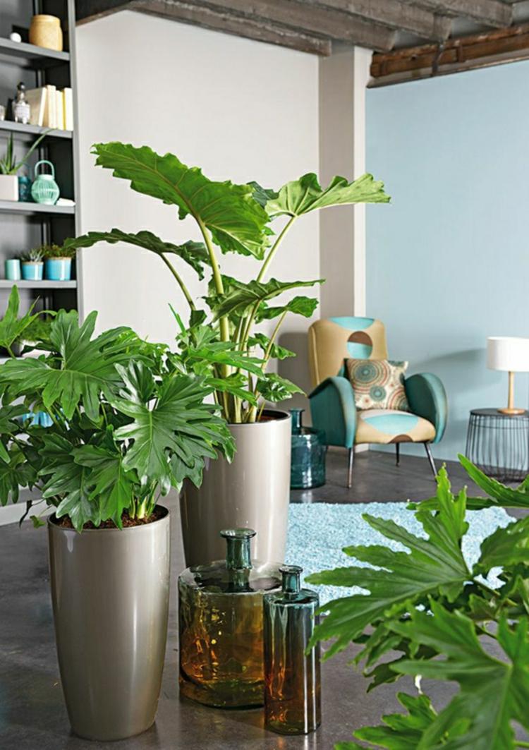 feng shui pflanzen wohnzimmer wohnideen positive energie zimmerpalmen