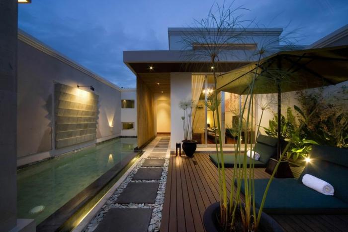 die gartenbeleuchtung die notwendige voraussetzung f r den gartengenuss. Black Bedroom Furniture Sets. Home Design Ideas
