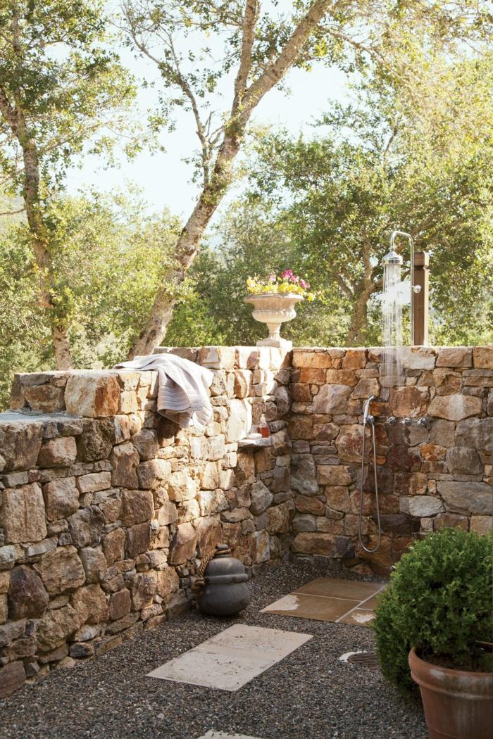 Outdoor Dusche Gartendusche Fur Einen Noch Tolleren Sommer