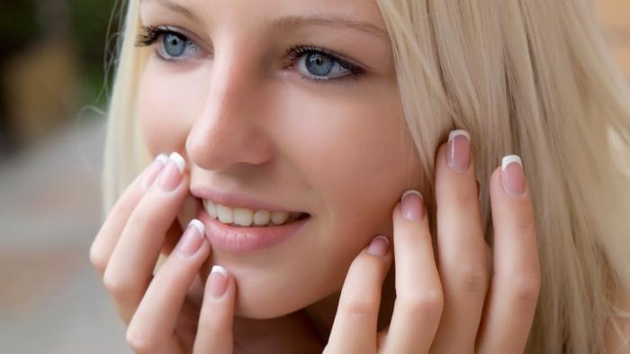 gesunde haut hausmittel für schöne haut bekommen reine haut tipps gesicht natur schutz