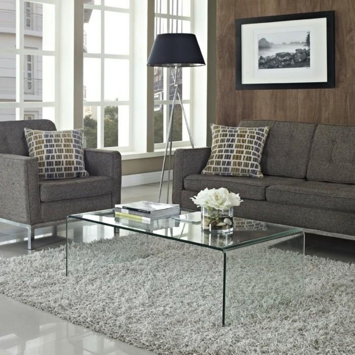 moderner glastisch f r den traditionellen kaffe klatsch. Black Bedroom Furniture Sets. Home Design Ideas