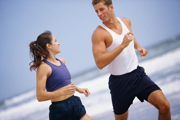 grüner kaffee gesund abnehmen jogging sport