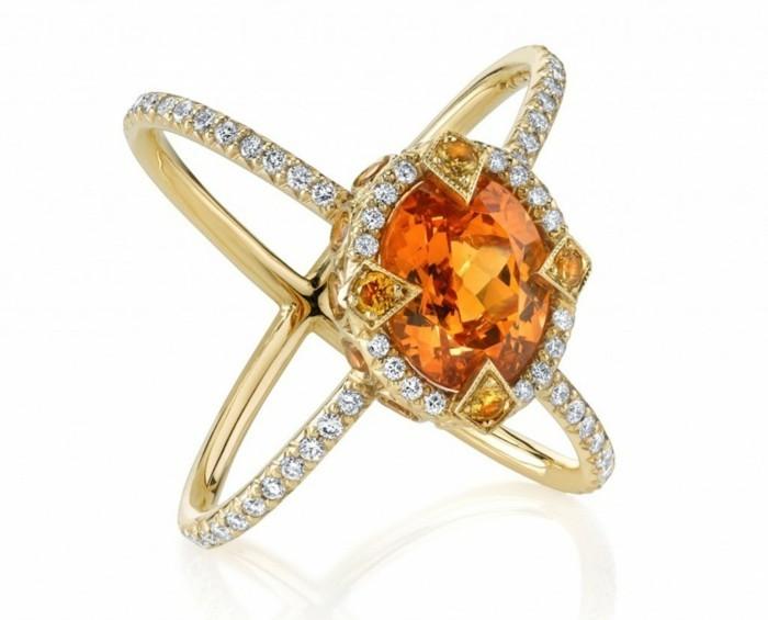 garnet edelstein heilwirkungen ring gelb diamanten