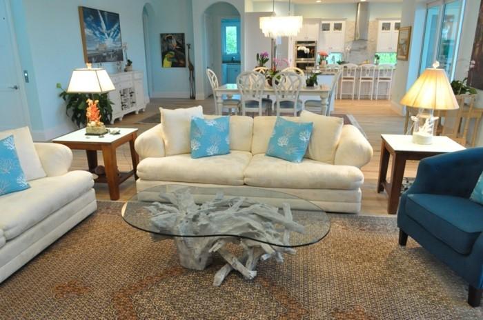Wohnzimmer Einrichten Natur : Inneneinrichtung – Ideen, wie Sie mit ...