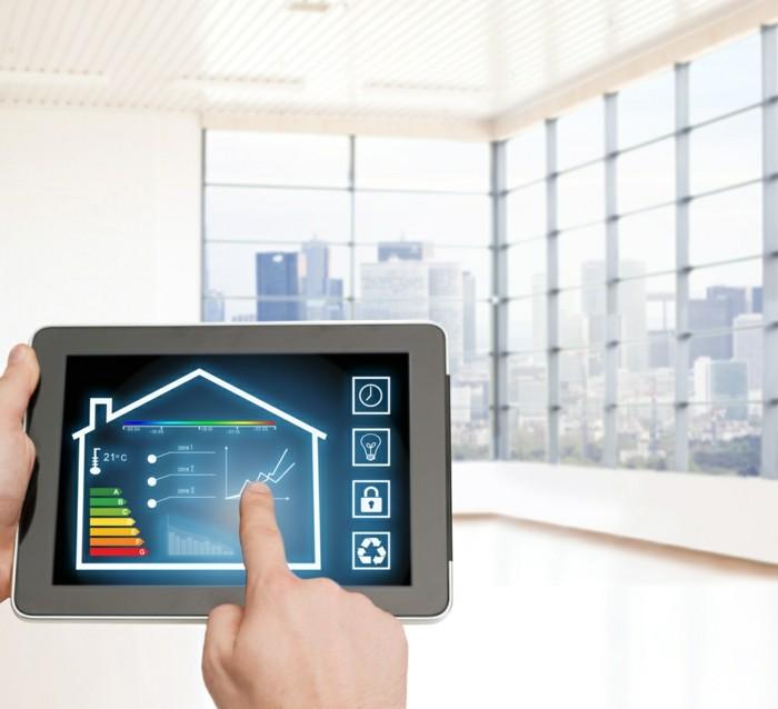 intelligentes wohnen smart home systeme energieeffizienz strom sparen