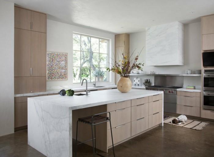 küchenmöbel küchenschränke kücheninsel offene regale
