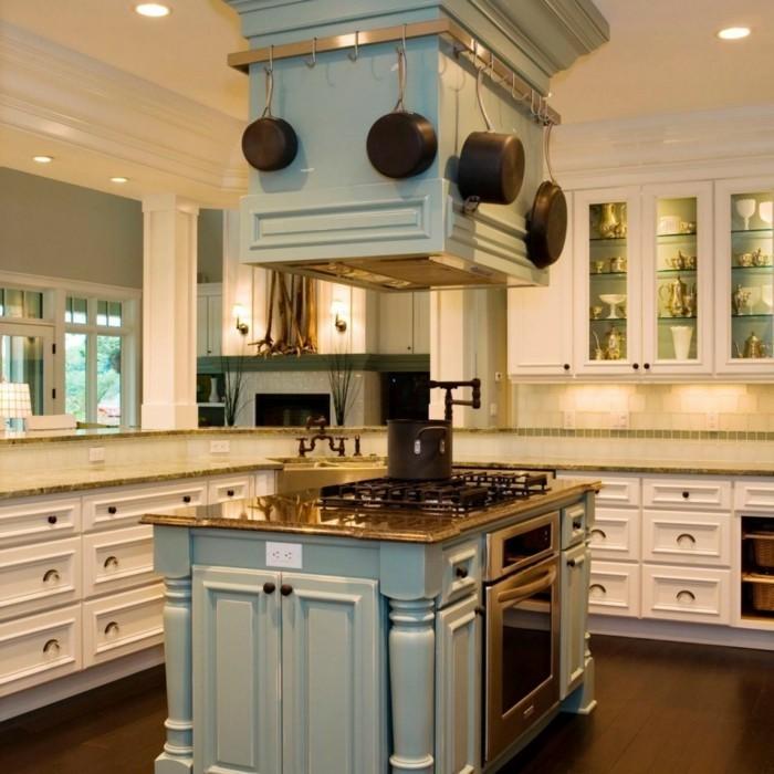 küchenschränke kaufen elegant hellgrüne kücheninsel