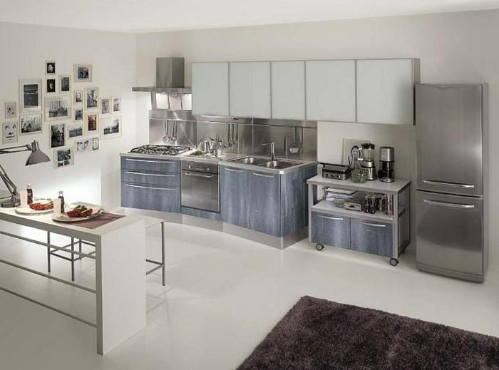 küchenschränke kaufen industrielle einrichtung weißer bodenbelag offener wohnplan