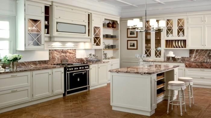 küchenschränke kaufen weiß traditionelle küche