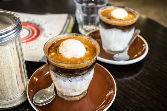 kaffee eiskaffee lecker eiscreme