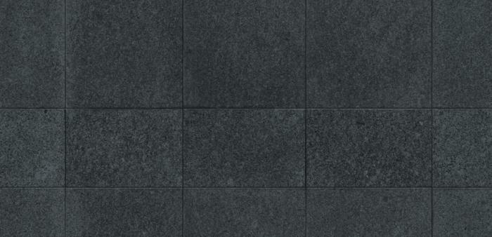 keramikfliesen einrichtungsbeispiele wohn schwarz weiß granit
