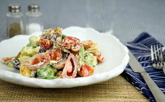 ketogene diät gesunde fette fettsäuren low carb rezepte salate