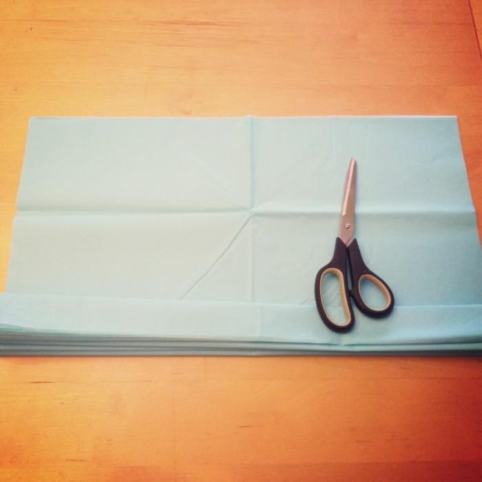 kreativ basteln papier diy ideen dekoideen wohnideen