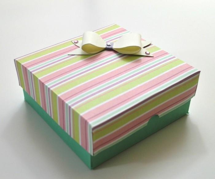 kreativ basteln papierkisten farbig valentinstag geschenkideen